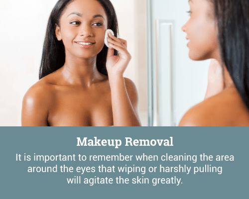 makeup removal
