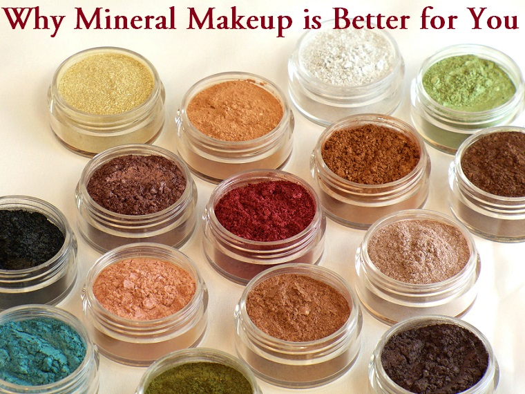 why mineral makeup is better for you