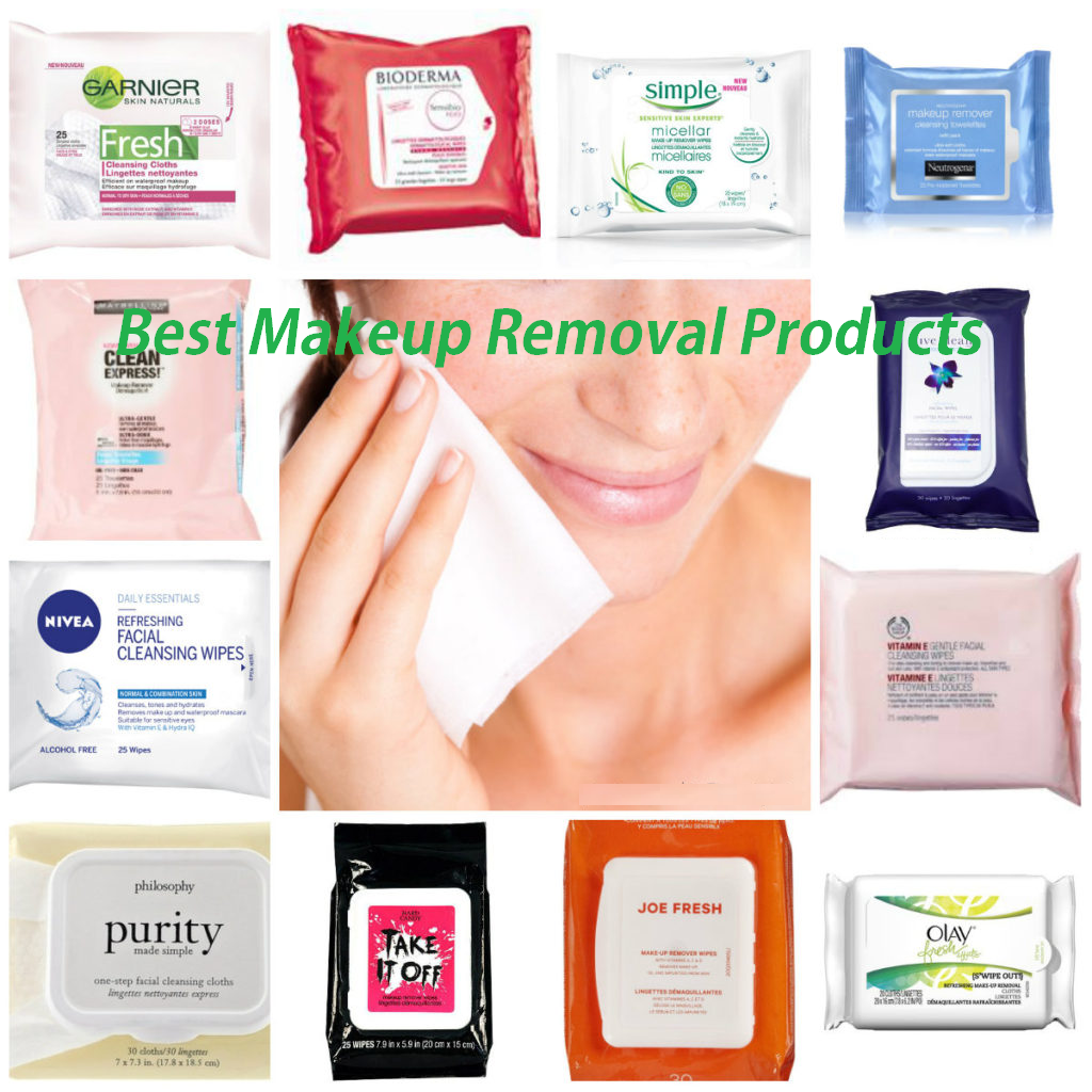 best makeup removal products